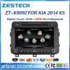 KIA K5 차 DVD 오디오를 위한 2 DIN GPS 항법