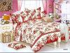 多綿のクイーンサイズの高品質のホーム織物の寝具セット