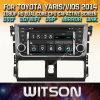 DVD van de Auto van de Vensters van Witson de Speler Van verschillende media voor de Nieuwe Aankomst van Toyota Yaris Vios 2014
