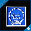 Debossed 3D blauer Plastikgummikennsatz für Kleid-Zubehör