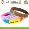 La grande usine professionnelle font les bracelets faits sur commande de silicone