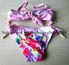 女の子のための甘い印刷のビキニ、水着の子供の水着の子供の摩耗