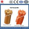 T38 76mm Tungsten Carbide Tapered Button Bit