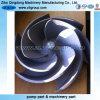 Turbine de pompe d'acier inoxydable de moulage de précision d'OEM pour l'industrie pétrolière CD4/316ss