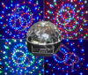 LED Magic Ball met Bluetooth, \ MP3 Player \ Radio \ correct-Activated, Afstandsbediening en USB Haven Light