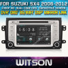 스즈끼 Sx4 2006-2012년 Car를 위한 Witson Car DVD DVD GPS 1080P DSP Capactive Screen WiFi 3G Front DVR Camera