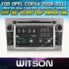 Witson Car Radio met GPS voor Opel Corsa (W2-D8828L)