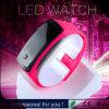Reloj de 2015 muchachas rojas populares de la manera LED (DC-891)
