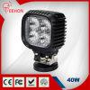 precio de fábrica 40W luz LED de trabajo