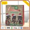 Weihnachtsnetter kleiner Hundepapierbeutel,