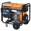 10HP 168f Luft abgekühlter beweglicher Dieselgenerator des schweißens-5kw