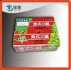 Коробка бумажного цвета для упаковки еды
