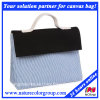 Tägliche Freizeit-Segeltuch-Damentote-Handtasche für das Einkaufen oder Arbeit