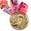 高品質の安いカスタム金属のスポーツ3Dの彫像メダル