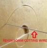 Fabrik-Zubehör-Härte-Draht-Schnitt Acrasive Draht-Schaumgummi-Ausschnitt-Draht für CNC-Schaumgummi-Ausschnitt-Maschinen-Teile