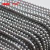 fornitore all'ingrosso materiale delle perle d'acqua dolce naturali rotonde grige di 7-8mm, perle di Zhuji