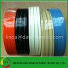 Borda de borda elevada do PVC do lustro da cor de madeira