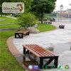 De lage Prijs paste de Waterdichte Houten OpenluchtBank van de Tuin aan