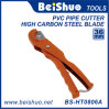 Herramienta de corte de trinquete de plástico para cortar el tubo de tubería de PVC y tubos de la manguera