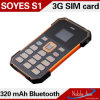 Waterproof, Dustproof, Shockproof Card Bluetooth Phone를 가진 세계 Smallest Card Phone