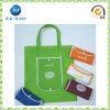 Sacco pieghevole ecologico poco costoso del sacco di acquisto del regalo (JP-nwb015)