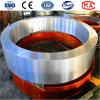 Pneumático personalizado da estufa giratória de fundição de aço grande para a estufa de cimento