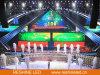 Het binnen LEIDENE van de Huur Scherm van de VideoVertoning/Comité/Teken/Muur voor de Achtergrond van het Stadium, Gebeurtenis