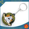 Corrente chave macia personalizada do PVC do logotipo do Doggy de China venda quente para a publicidade como a lembrança