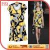 Impressão de alta qualidade vestido de Verão da Europa Ocidental (wzsd-405-015)