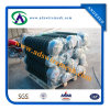 frontière de sécurité enduite de maillon de chaîne de PVC de 2.5mm/1.5mm 50X50mm