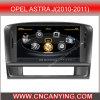 GPS、BluetoothのOpel Astra J (2010-2011年)のための特別なCar DVD Player。 を使ってA8 Chipset Dual Core 1080P V-20 Disc WiFi 3Gのインターネット(CY-C072)