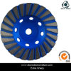 Голубой абразивный диск диаманта этапа Turbo