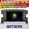 Witson Android 4.4 System Car DVD para Suzuki Grand Vitara (W2-A7014)