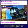 1000m Intercom Motorbike Motorcycle Helmet Headset avec Nfc