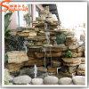 Fuente fábrica de plástico artificial directa de agua para decoración de jardín