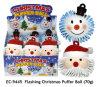 Blinkendes Weihnachtspuffer-Kugel-Spielzeug