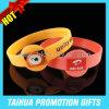 Wristband rotondo del silicone del braccialetto del silicone di promozione DIY (TH-08975)