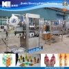 Machine à étiquettes de bouteilles liquides de vaisselle