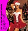 Sexy Natal santa traje T896
