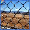 Ячеистая сеть звена цепи провода утюга PVC Coated