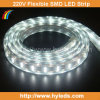 220V High Voltage SMD 5050 LED Strip/LED Ribbon (HY-HV5050-48-W)