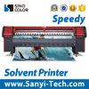 Máquina al aire libre solvente de la impresora de Km-512I