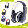 Do auscultadores estereofónico de Bluetooth do Headband cartão de memória sem fio FM da sustentação dos auriculares