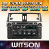 DVD van de Auto van de Vensters van Witson de Speler Van verschillende media voor Toyota Prado 2014