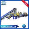 Bouteille PET Pnqt ferraille Machine à laver de recyclage du plastique