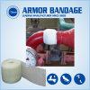 Résistant à la corrosion de l'eau industrielle activé bande adhésive de réparation du tuyau en fibre de verre