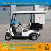 Тележка гольфа 2 Seaters электрическая с коробкой багажа для туристской пользы