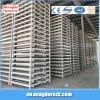 Empilement de l'espace d'économie de crémaillère d'entrepôt de stockage en rayons