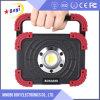800lm Lumen 10W Recargable Luz del Trabajo del LED con la Insignia