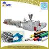 Ligne en plastique de machine d'extrusion de pipe de Mousse-Faisceau-Couche de galerie pour câbles de PVC UPVC